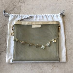 Anteprima see through small pouch with charm